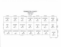Pennington County Code Map, Pennington County 1998